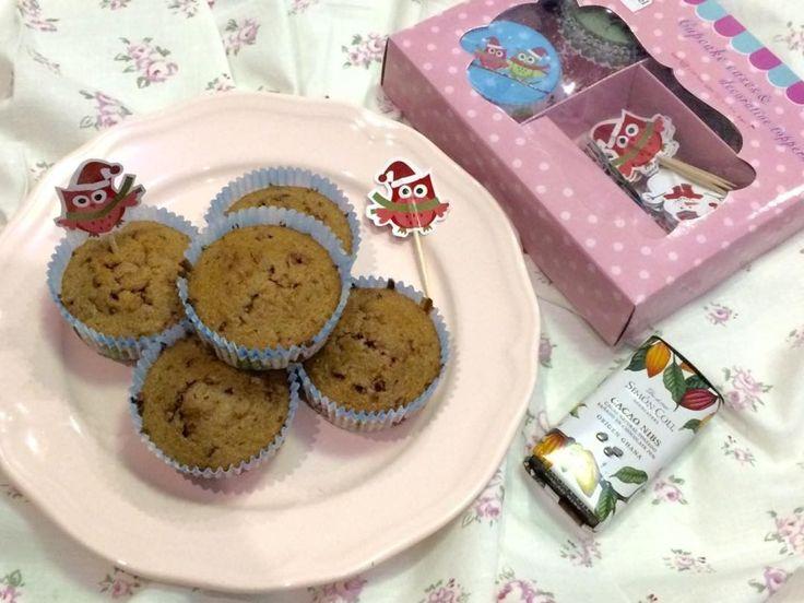 Kávové muffiny s čokoládou ☕❤#muffin#dessert#coffee#