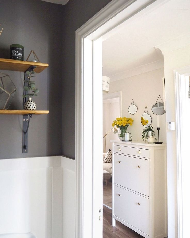 Small downstairs loo / guest bathroom with white washed