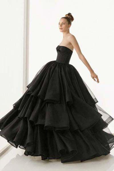 Siyah Gelinlik Modelers Bridal HC...