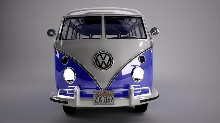 Modellierung VW T1