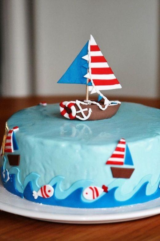 Boot-Torte