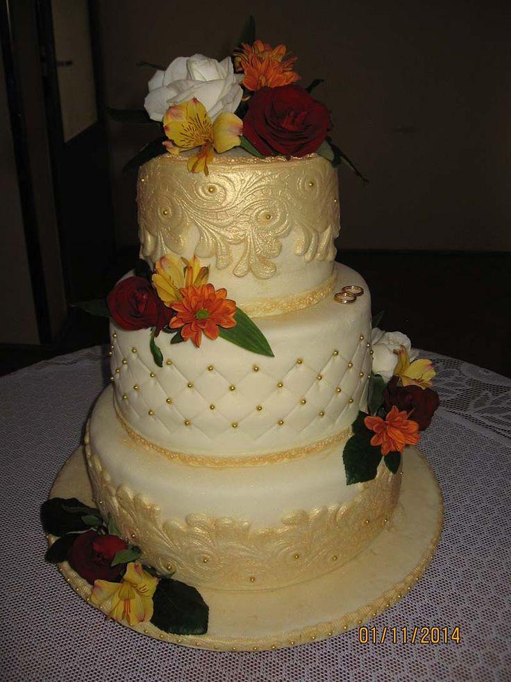 svatební pro neteř s živými květy