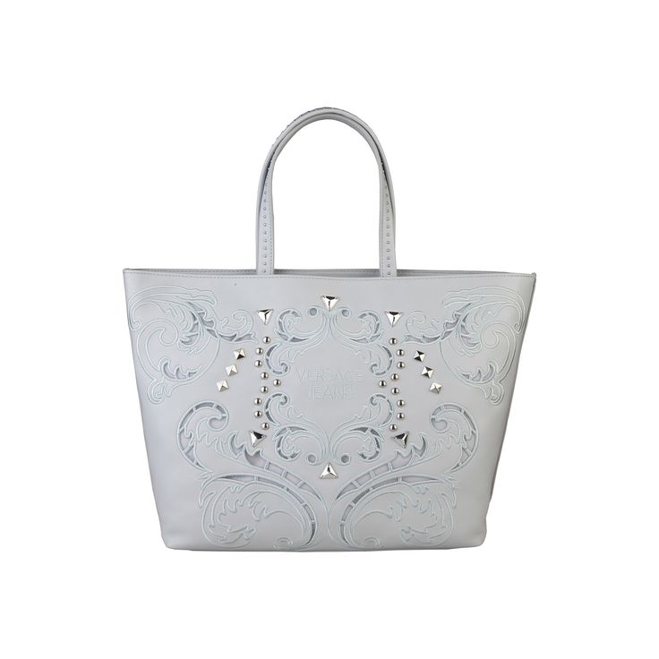 Versace Jeans – E1VNBBR1_75303 – Shopping bag of PU has double handle, applied logo, lined interior, zip fastening. Inside it, one compartment, one zip pocket, one inside pocket. It is of size: 45*30*13 cm.   https://fashiondose24.com