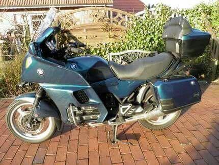 Meine aktuelle...BMW K1100 LT