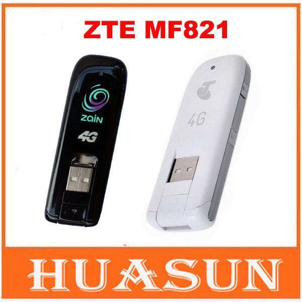 Original Unlocked ZTE MF821 4G 3G LTE USB Dongle USB Stick Mobile Broadband Modem internet key PK MF823 MF831 MF820