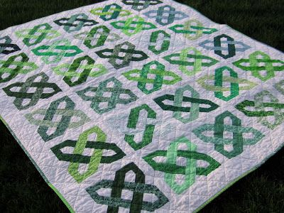 Inspire Me Grey: Big Finish: Celtic Motion Group Quilt