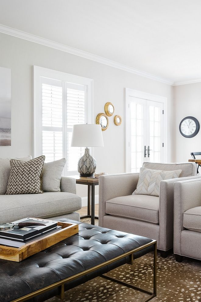 Gray Bedroom Paint Ideas: Great Neutral Paint Color Benjamin Moore Classic Gray More