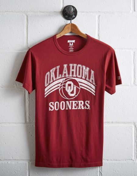 Tailgate Men's OU Sooners Basketball T-Shirt