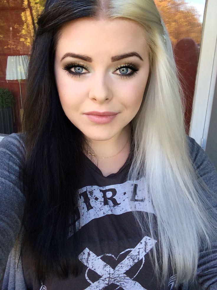 Frisuren mit schwarz und blond