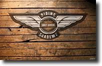 Fond d'écran Harley-Davidson ailes aigle