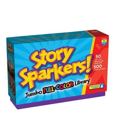 Take a look at this Story Sparkers! Library on zulily today!