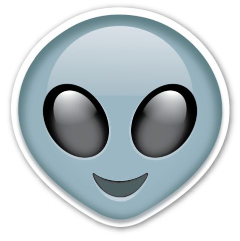 Extraterrestrial Alien | EmojiStickers.com