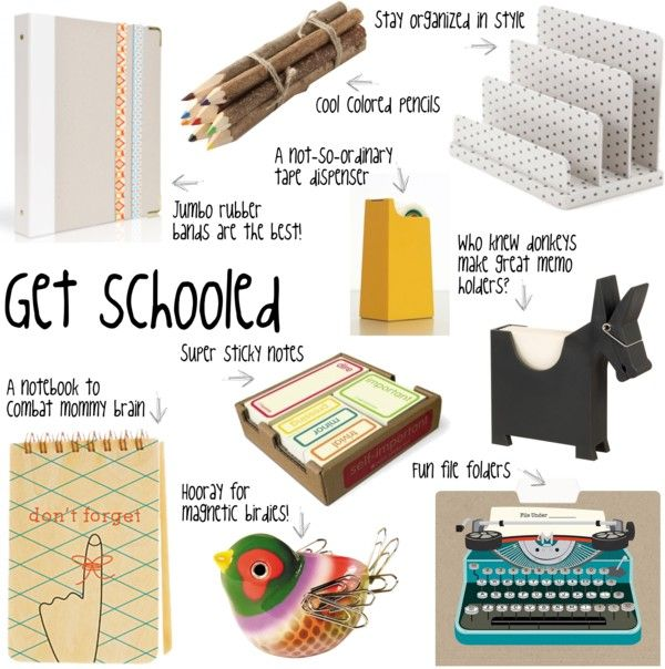 Get schooled: fun and different office necessities. Why should learning or working be boring?
