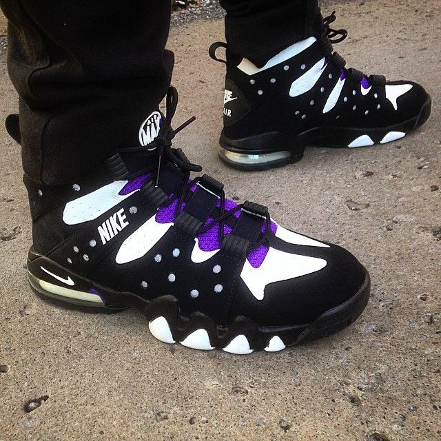 sneakers lebron james purple charles barkley shoes