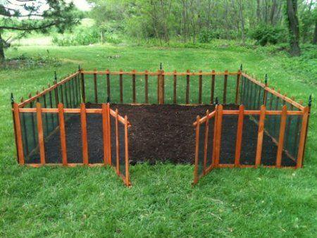 Amazon.com : Terra Garden Fence GF 4, Protect U0026 Beautify, 32