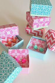 Van Jansen: Hoe maak ik zelf sieradendoosjes van karton?