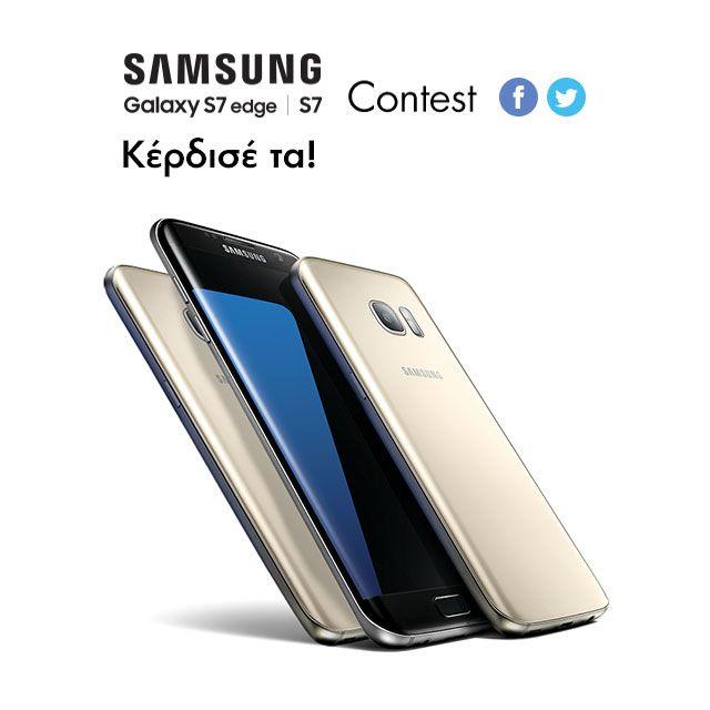 NEOΣ ΔΙΑΓΩΝΙΣΜΟΣ!  1 Samsung Galaxy S7 Edge & 2 Samsung Galaxy S7 σε περιμένουν! Μπες: http://tinyurl.com/zqnsm8g! #Plaisio #contest #Samsung