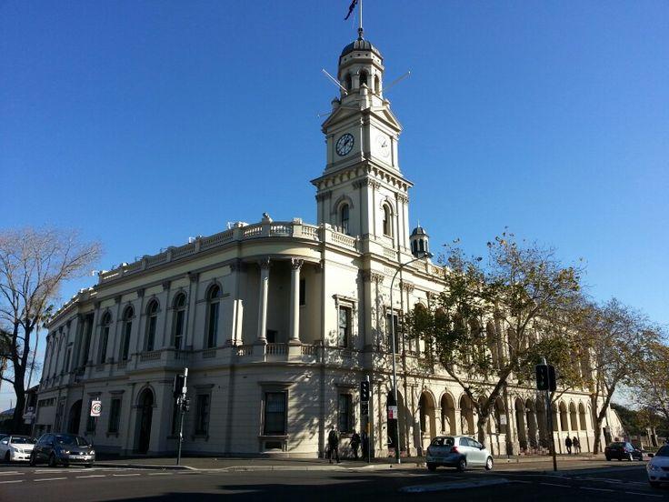 Paddington town hall Sydney