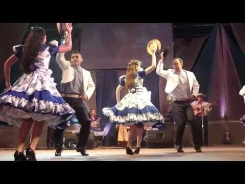 Baile tipico Zona Centro de Chile - El Sombrerito - YouTube