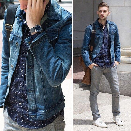 17 Best images about Denim Jacket on Pinterest