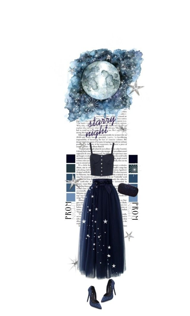 """""""Prom Style"""" by mmk2k ❤ liked on Polyvore featuring TIBI, Chicwish, Carvela, Anya Hindmarch, Prom, dress and PROMNIGHT"""