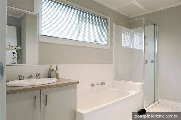 After bathroom renovations by Renovating for Profit