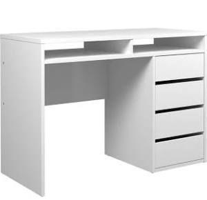 Best 25 bureau blanc laqu ideas on pinterest meuble - Bureau blanc laque ikea ...