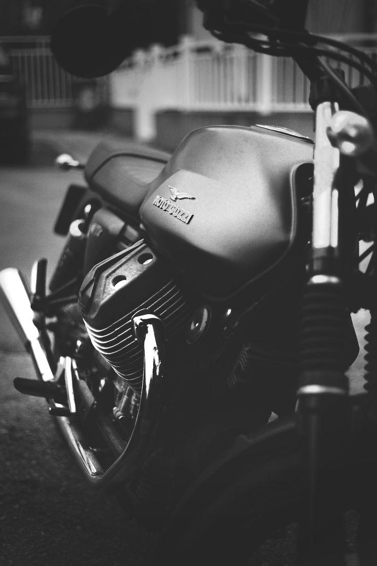 My 2014 Moto Guzzi V7 Stone