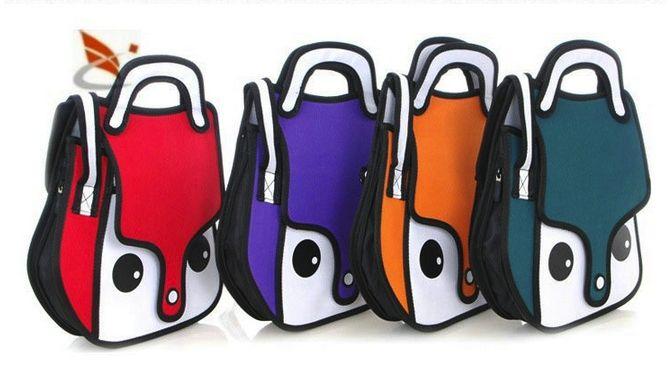 """Интересные сумки и подарки для школы!  Сумки школьные необычно интересные для подростков сейчас, нередко выглядят почти как модели сумок для взрослых.  Если Вы зайдете на сайт с необычными """"мультяшными"""" сумками , и узнаете наш интернет магазин по логотипу, на котором как нарисованная, виднеется сумка в формате 2D, детям, и конечно же женские аксессуары для школы. Вы можете купить легко!  Очень похоже на детские рюкзаки 3d для дошкольников. На вид молодежные сумки, очень интересные,"""