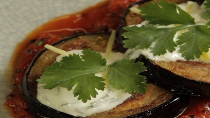 Look at this recipe - Spiced Stuffed Aubergines - from Reza Mahammad and other tasty dishes on Food Network.