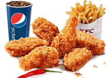 KFC 15% OFF On Orders Of Rs.350 Offer : KFC October Offers and Coupons Code - Best Online Offer
