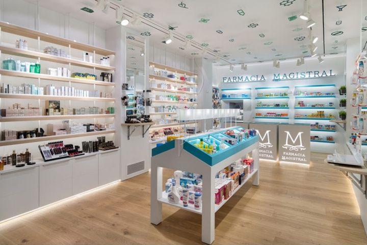 Magistral Pharmacy by Marketing Jazz, Murcia – Spain » Retail Design Blog