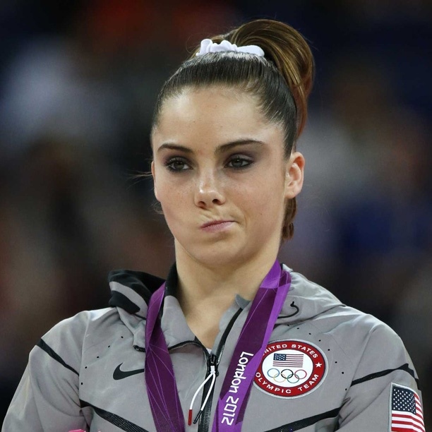 McKayla Maroney of the U.S. Women's Gymnastics team at the Olympics