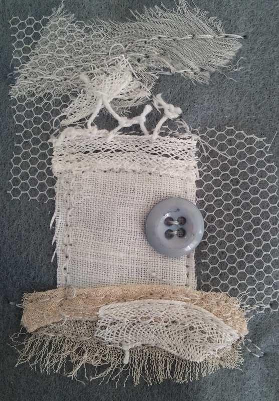 Handmade Card - detail 2