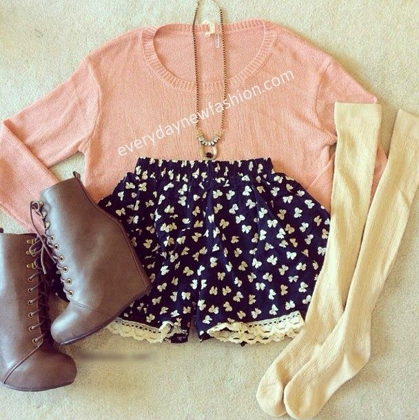 Daily New Fashion : Cute Fall / Winter Teen Outfits - http://AmericasMall.com/categories/juniors-teens.html