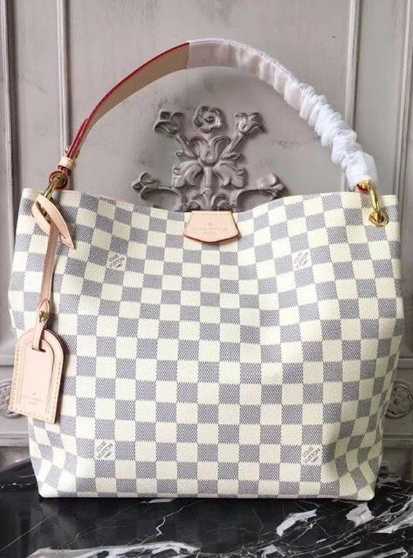 Louis Vuitton Damier Azur Graceful Pm N42249 Gift Louis Vuitton