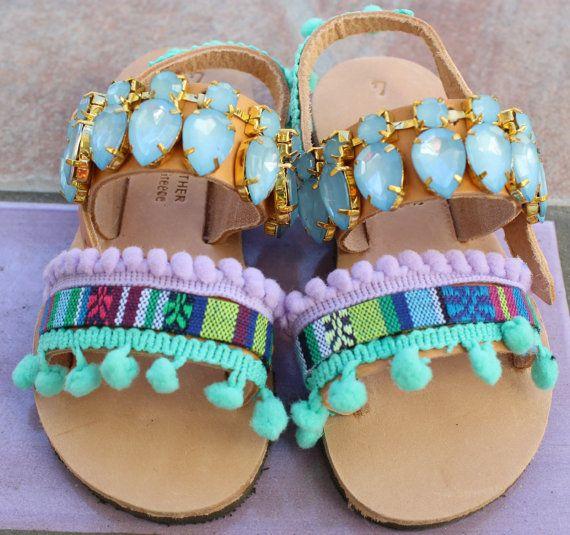 Greek sandals Leather sandals boho sandals