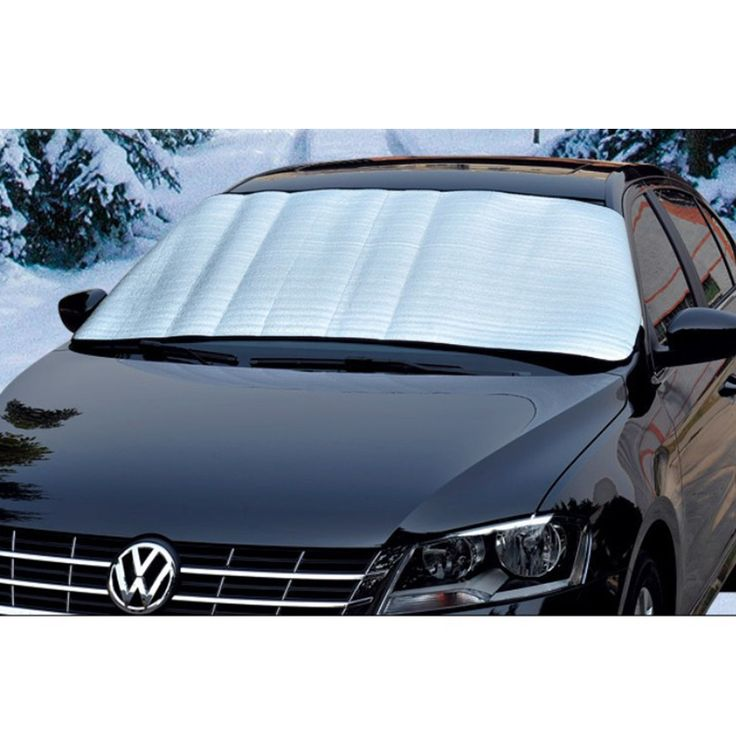 Auto sun block large front custom sunscreen with silver