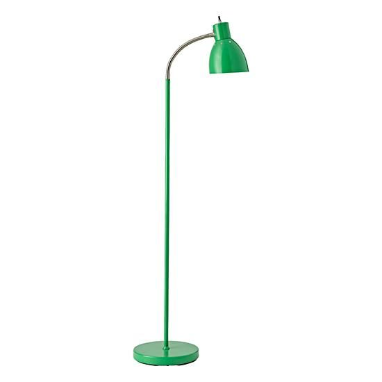 Shop Green Adjustable Floor Lamp. Here's a brilliant notion: The neck of this floor lamp adjusts to accommodate any position you need.