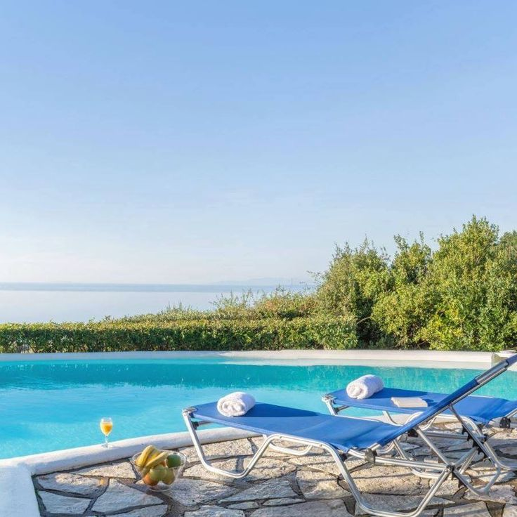 Τhe view from Agios Nikitas Villas