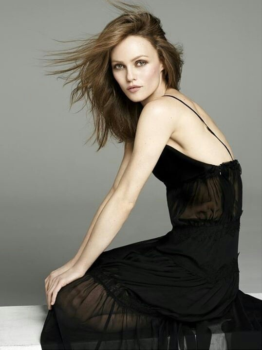 Vanessa Paradis in BLUMARINE, from the June 2013