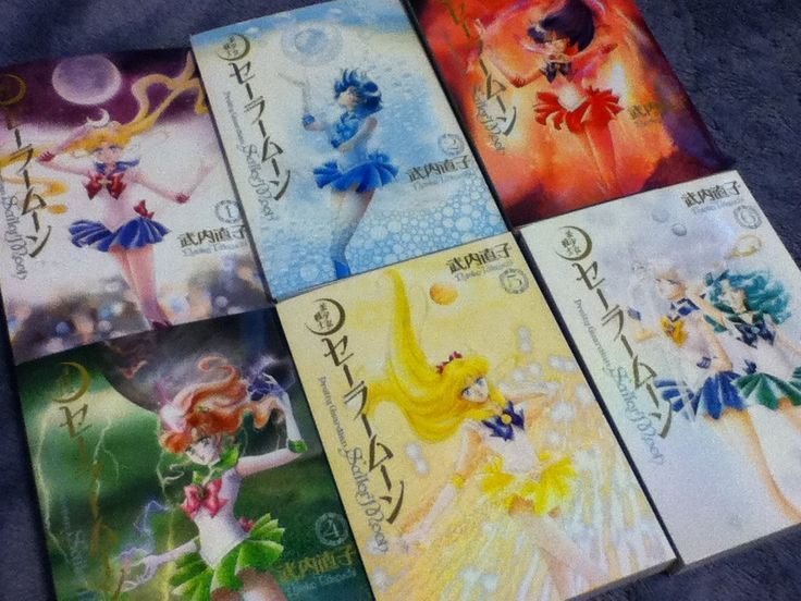 3rd Gen Japanese Sailor Moon Manga Volumes 1 - 6. For more information and international shipping shopping links, check out my Shopping Guide here http://www.moonkitty.net/reviews-buy-sailor-moon-third-gen-kanzenban-manga.php