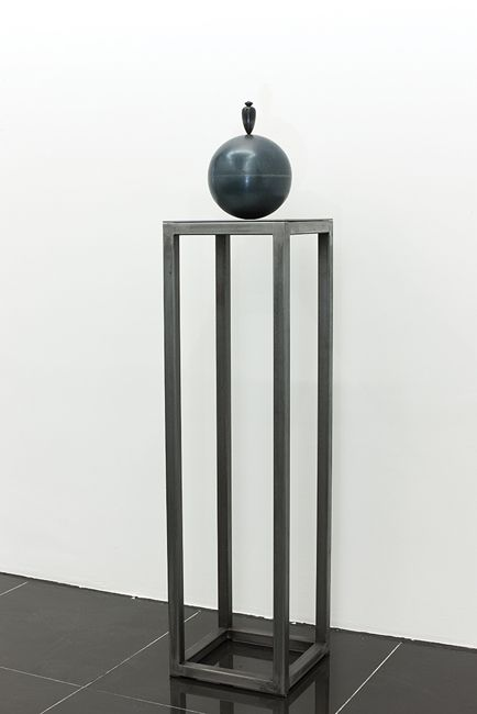 Theorem Osman DINC, Black Scholars, 2013, Steel, 30,5x139