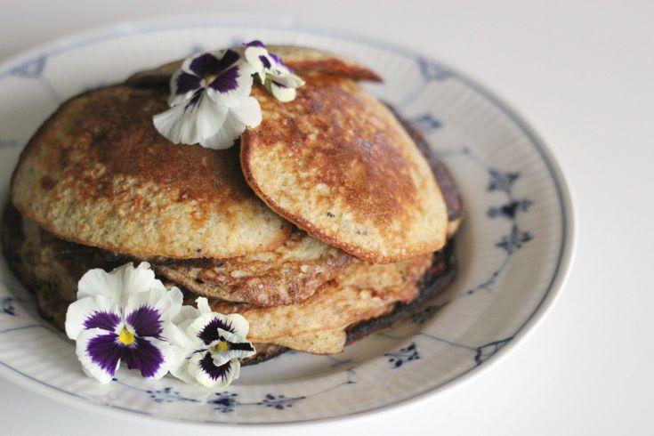 Banana pancakes by blogliebling.dk