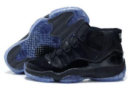 Nike Air Jordan Xi 11 Mens Shoes Black All New Ireland