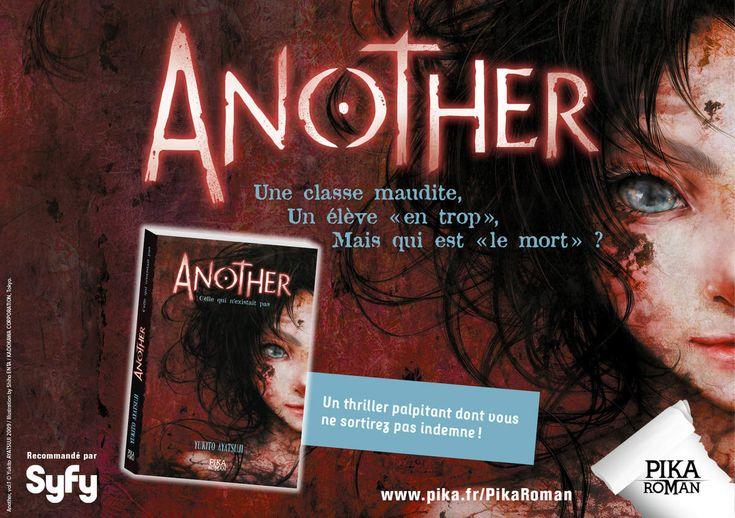 """Another, tome 1 """"Celle qui n'existait pas"""" : rencontre avec le Mort (Pika Édition)"""