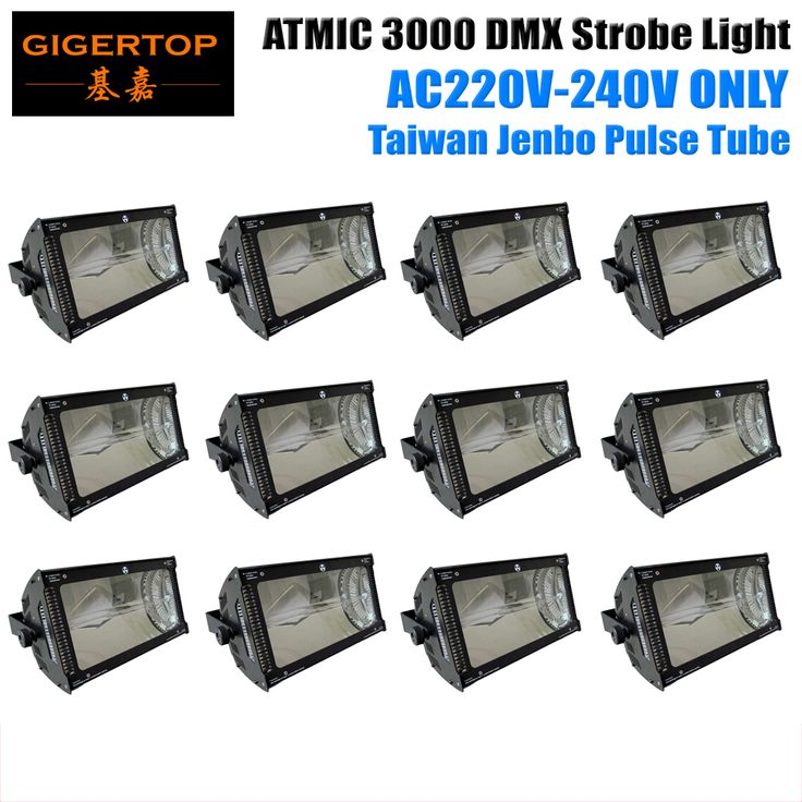 ==> [Free Shipping] Buy Best Factory Directly Sales 12XLOT White Color Martin 3000W Strobe Light Flash Rate Control Super Blinder Effect Mounting Brackets Online with LOWEST Price | 32509209490