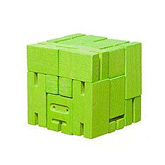 top3 by design - Areaware - cubebot micro green