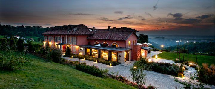 Relais Villa d'Amelia, Alba, Piemont