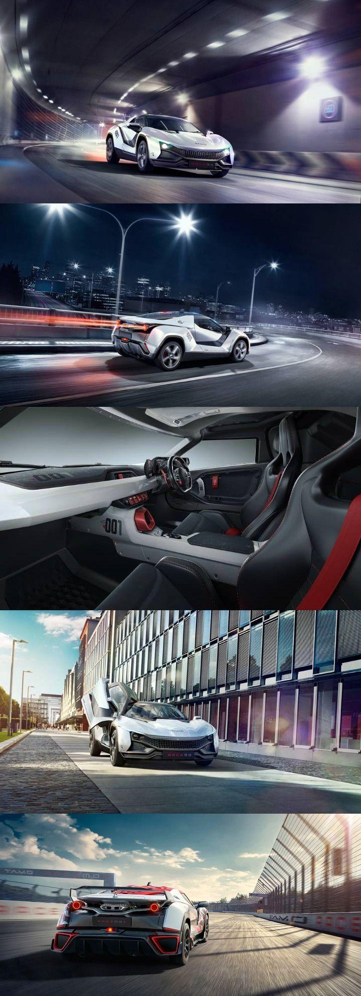 Tata Sports Car TaMo RaceMo Unwrapped at 2017 Geneva Motor Show